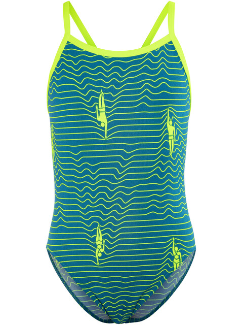 Funkita Single Strap One Piece Swimsuit Girls Ripple Effect